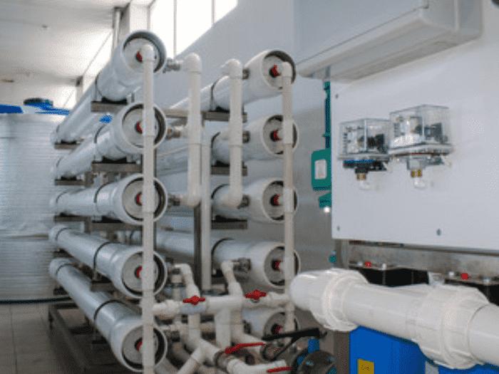 水処理装置のメンテナンス